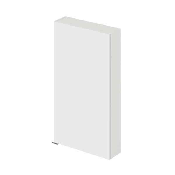 Фото - шкаф подвесной ika style 50 500х150х900 (белый глянец) тумба подвесная ika style 100 белый глянец