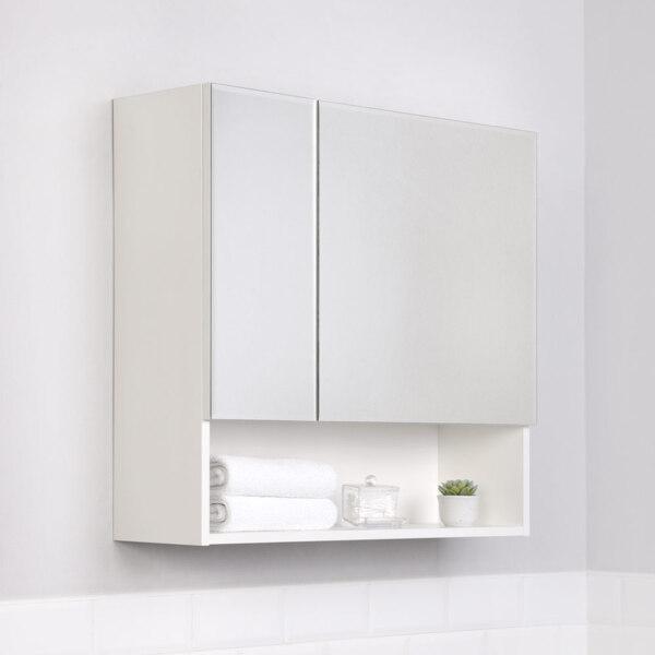Фото - шкаф-зеркало ika уют 75 белый глянец тумба подвесная ika style 100 белый глянец