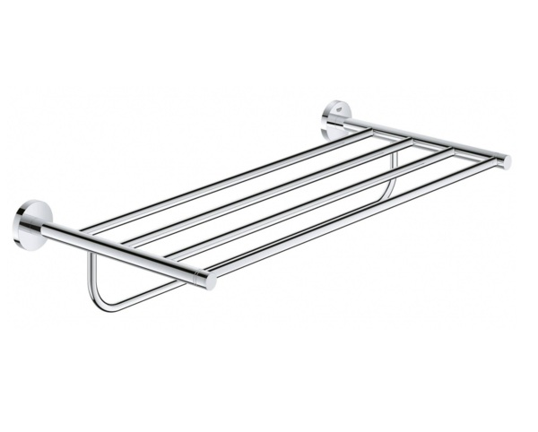 держатель полотенца grohe essentials 40800001 держатель для банного полотенца grohe essentials хром 40800001