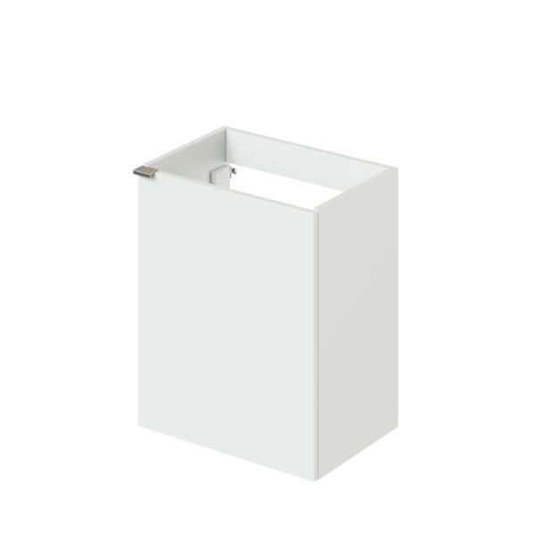 Фото - тумба подвесная ika style 50 496х345х600 (белый глянец) тумба подвесная ika style 100 белый глянец