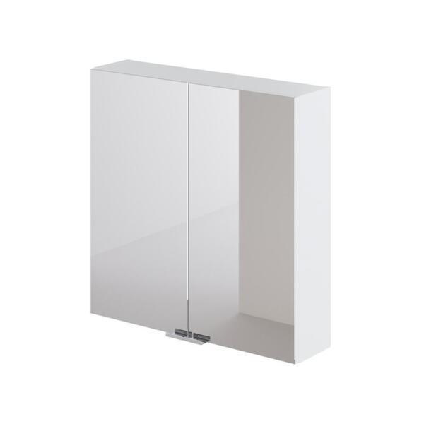 Фото - зеркальный шкаф ika style 60 600х150х600 (белый глянец) тумба подвесная ika style 100 белый глянец