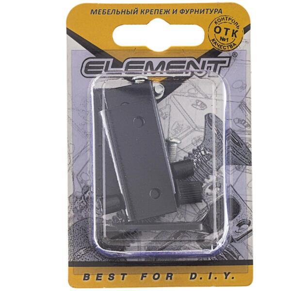 петли для стеклянных дверей, черный, комплект element 115030