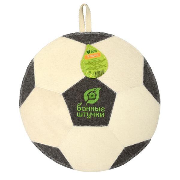 коврик для сауны футбольный мяч 40140