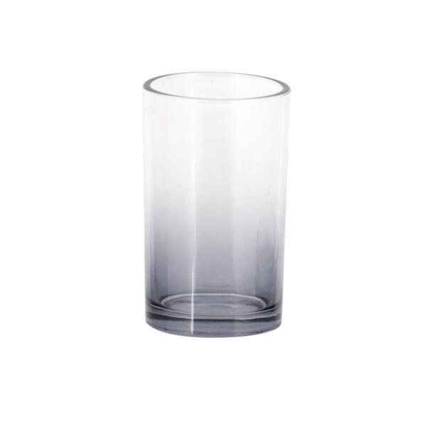 Фото - стакан для зубных щеток master house стекло серый 60698 стакан для зубных щеток touch 10х10х8 см серый 023271 918 umbra