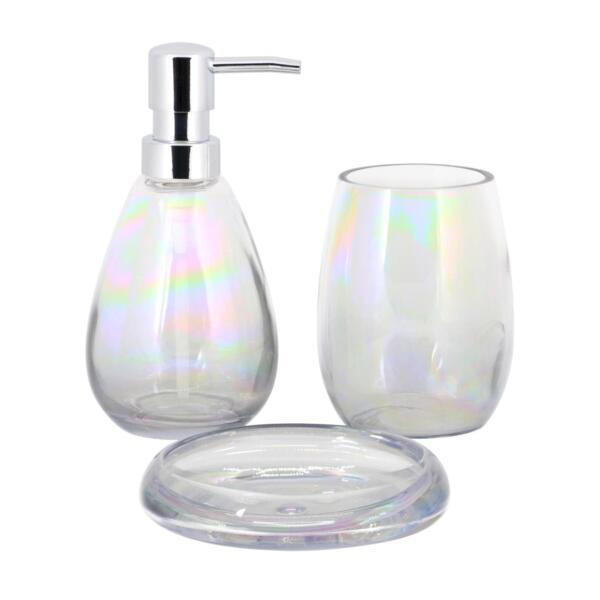 дозатор для жидкого мыла master house стекло 60690