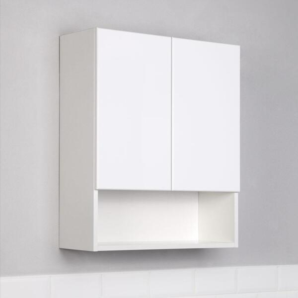 Фото - шкаф подвесной ika уют 60 белый глянец тумба подвесная ika style 100 белый глянец