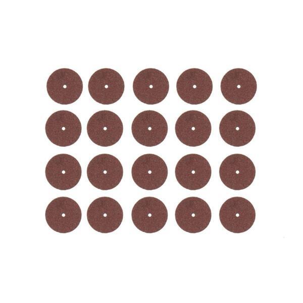 диски отрезные для мини-дрели hammer flex 219-006, оксид алюминия, 20 шт