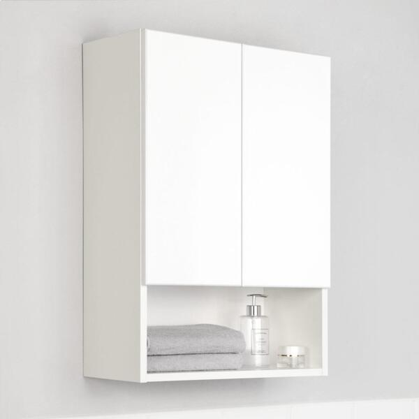 Фото - шкаф подвесной ika уют 50 белый глянец тумба подвесная ika style 100 белый глянец