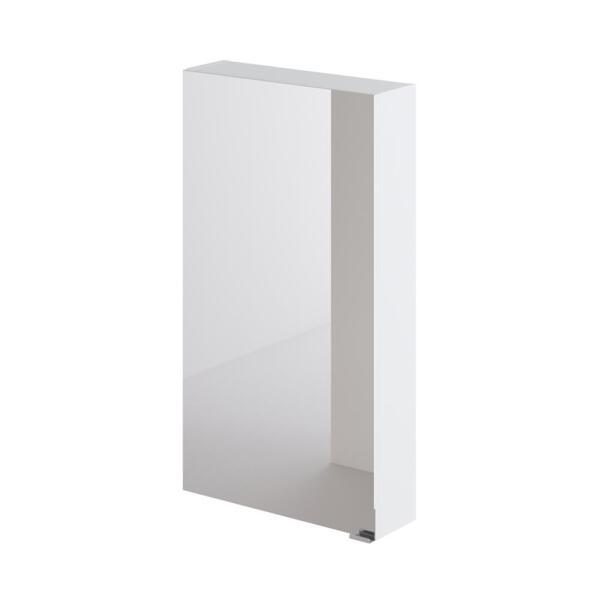 Фото - зеркальный шкаф ika style 50 500х150х900 (белый глянец) тумба подвесная ika style 100 белый глянец